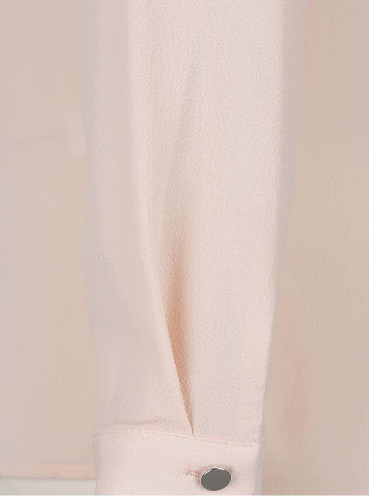 Meruňková halenka s dlouhými rukávy M&Co