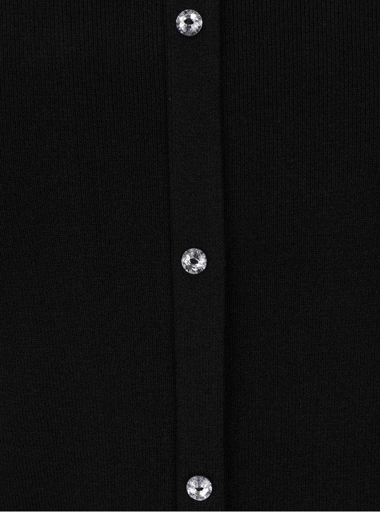 Černý dámský svetr se zvonovými rukávy M&Co
