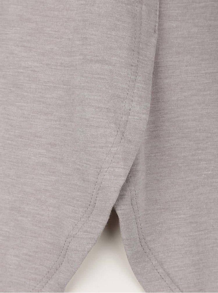 Bluză gri Ragwear Ciel cu detalii cu model floral