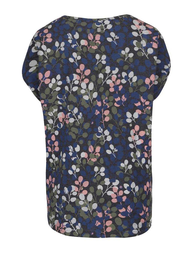 Tmavě šedé dámské tričko s potiskem Ragwear Hipe B Organic
