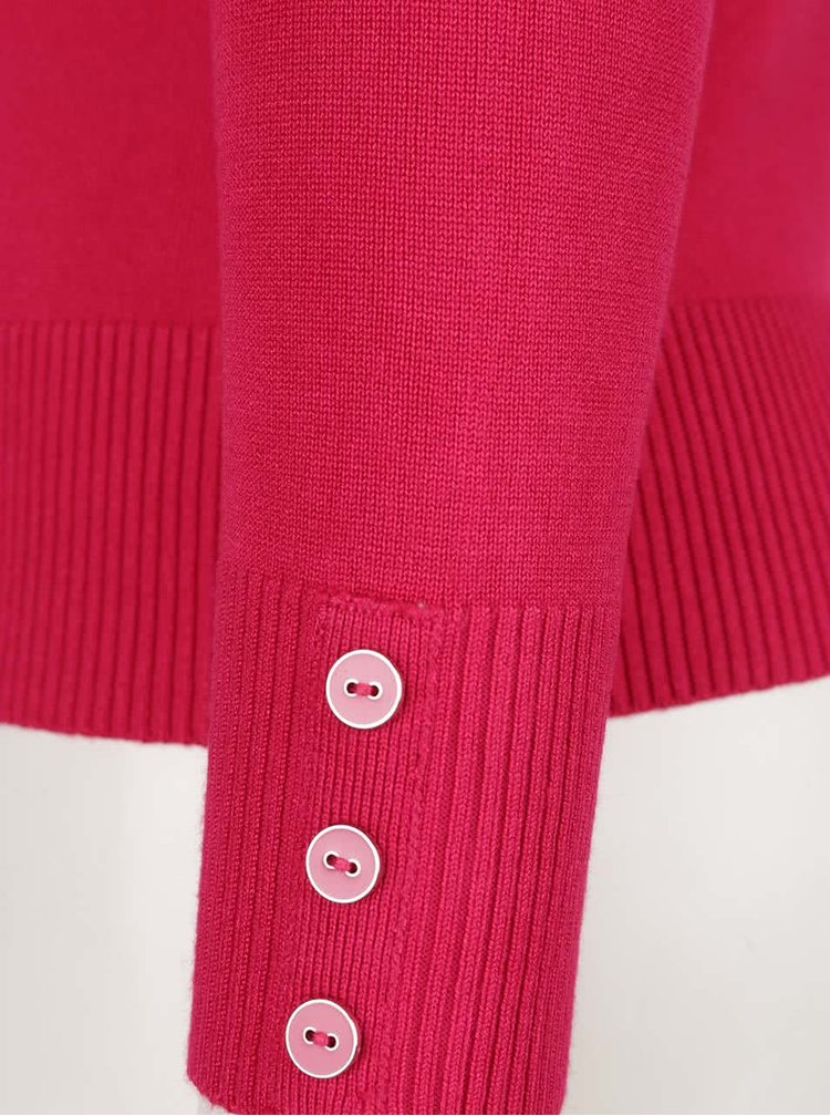 Růžový dámský kardigan M&Co