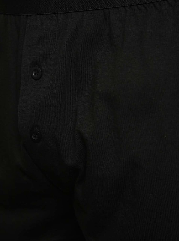 Sada tří boxerek v černé, šedé a bílé barvě M&Co