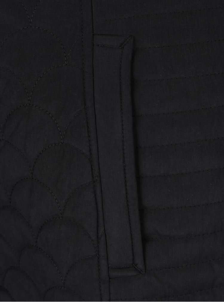Černá dámská prošívaná bunda M&Co