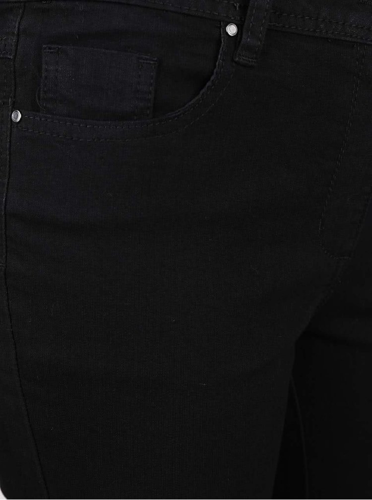 Černé dámské rovné džíny M&Co