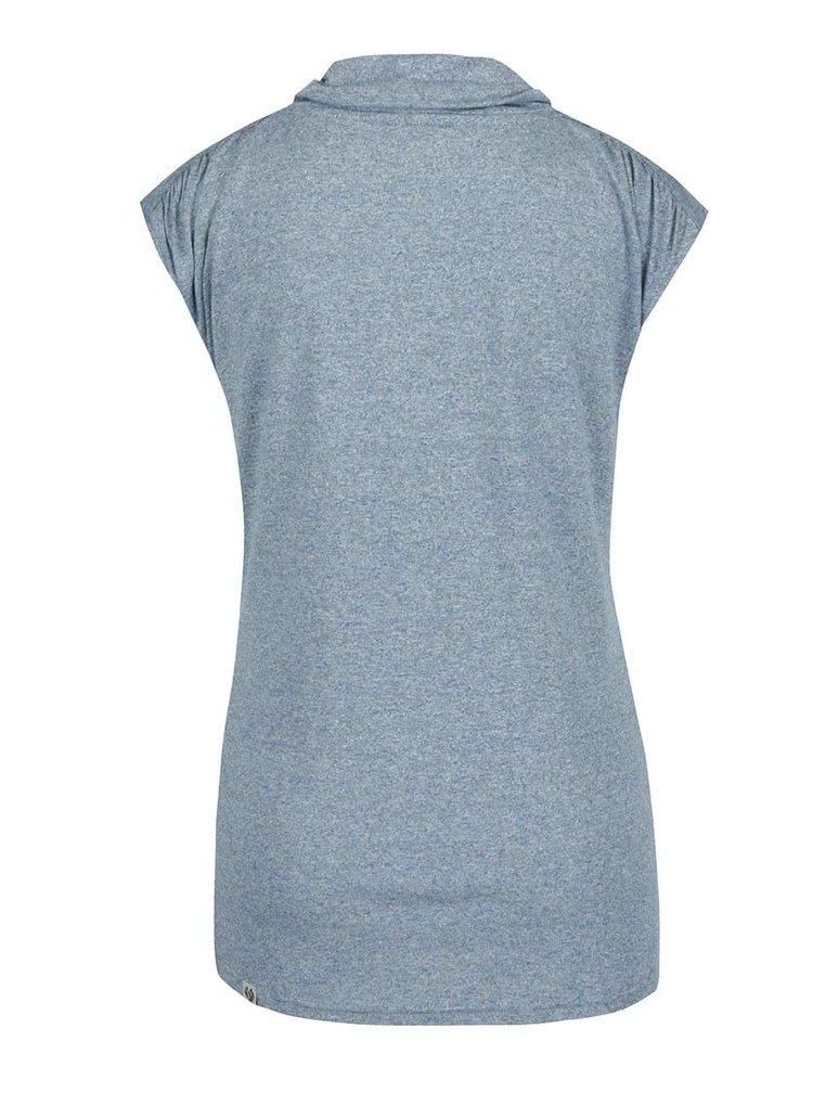 Modré dámské tričko Ragwear Lorna