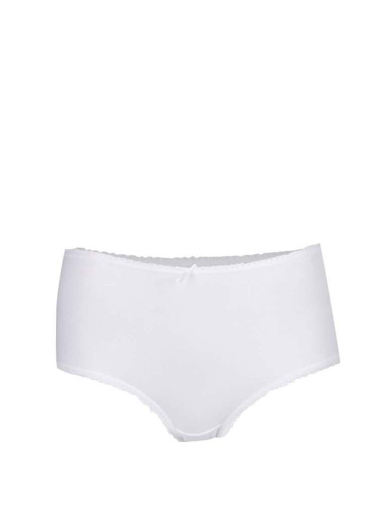 Sada pěti bílých kalhotek M&Co