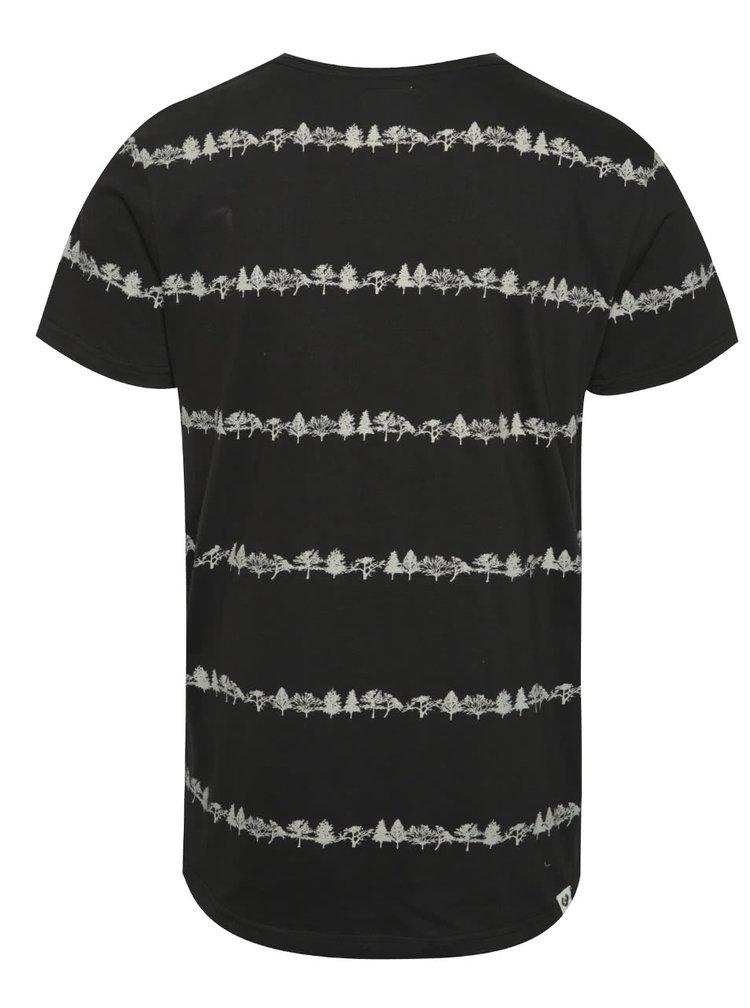 Černé pánské triko Ragwear Trick organic