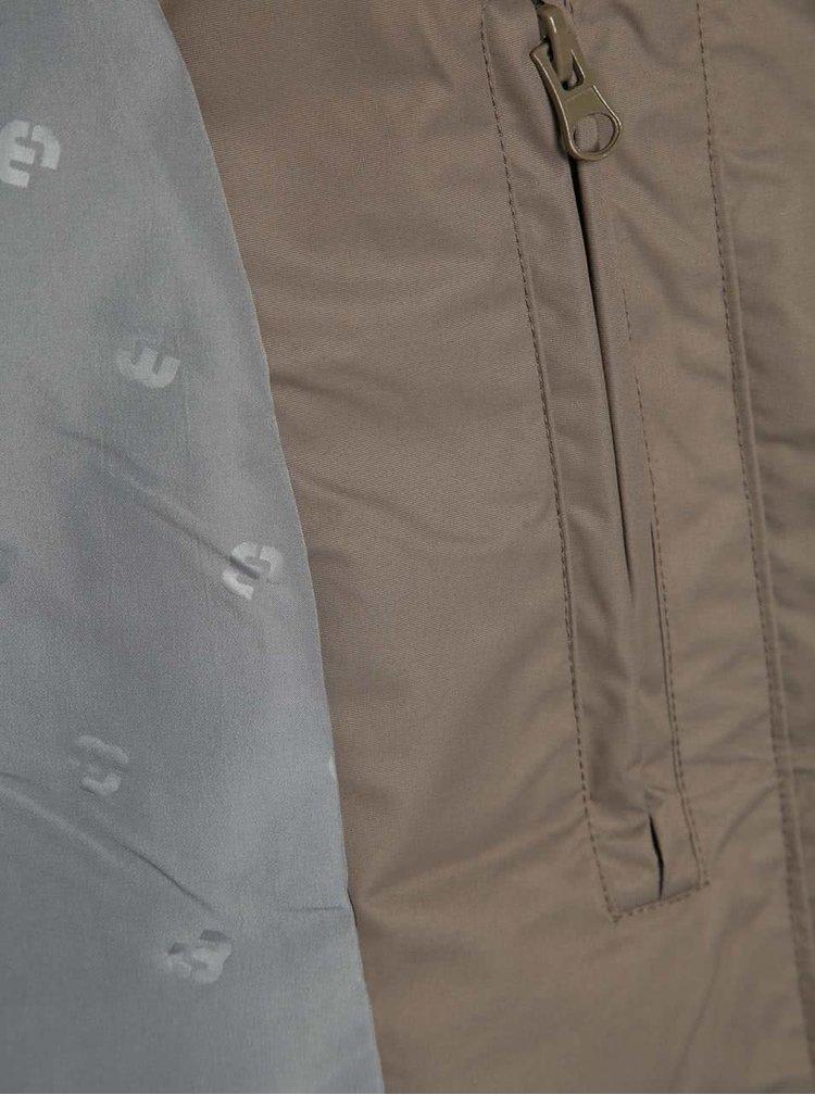 Hnědá pánská lehká bunda Ragwear Percy Organic