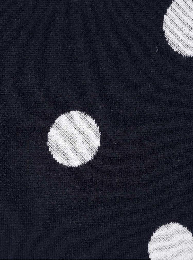 Pulover bleumarin cu buline VERO MODA Clotilde