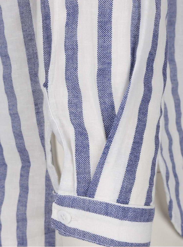 Cămașă alb&albastru VERO MODA Stripy