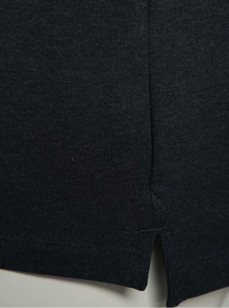 Modré triko Selected Homme Maze