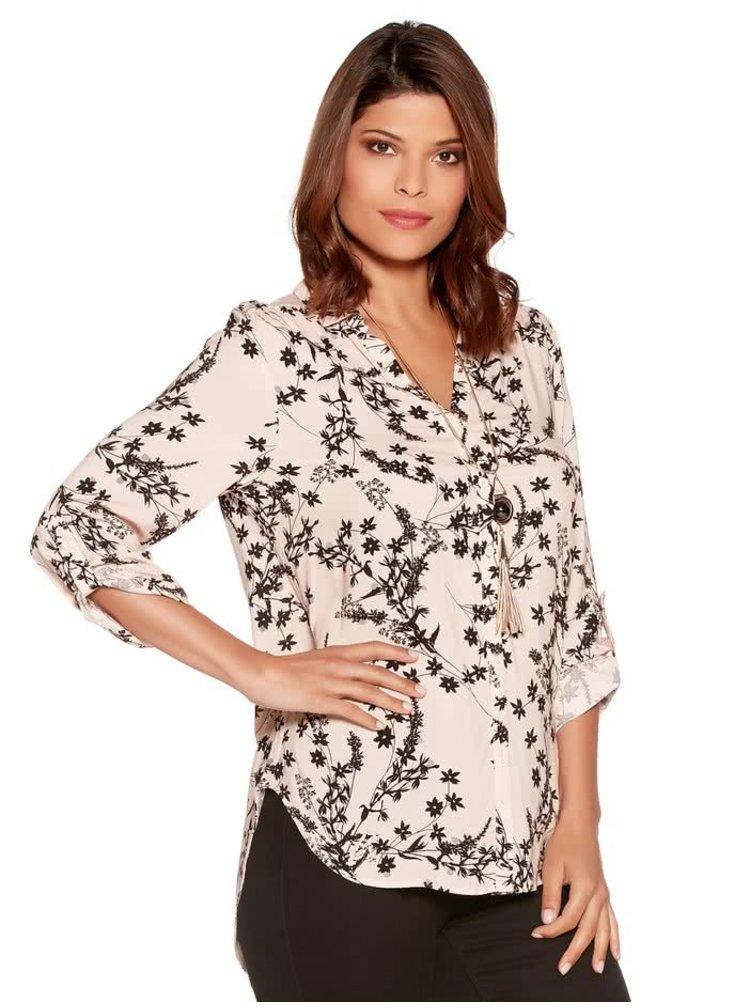 Béžová dámská volná košile M&Co