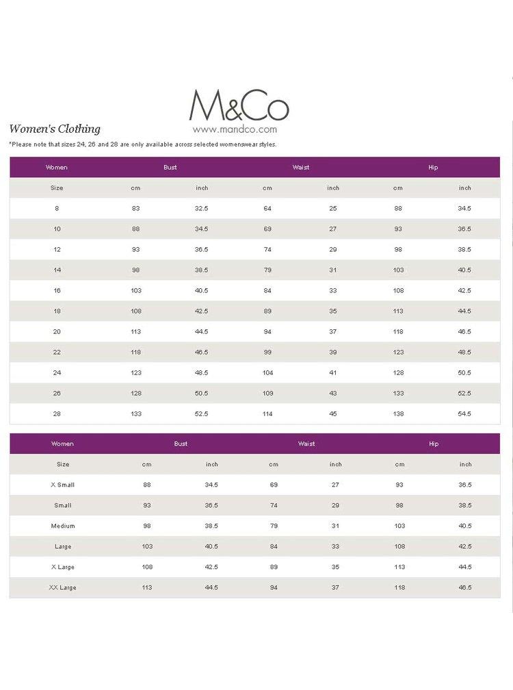 Krémová volná květovaná halenka M&Co