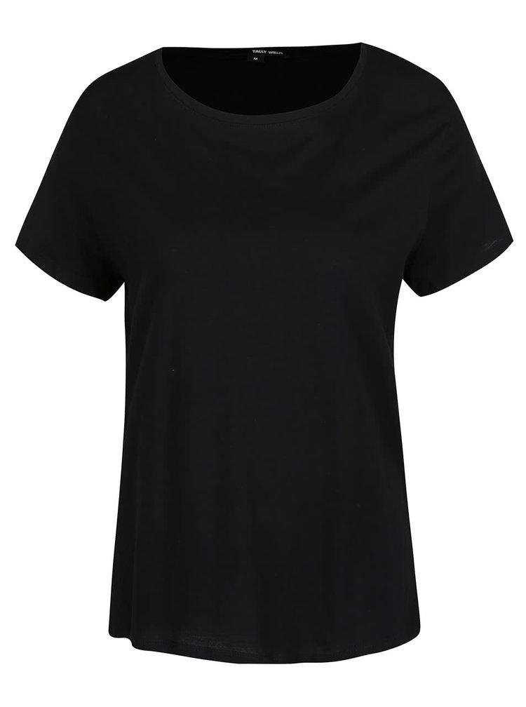 Tricou basic TALLY WEiJL negru