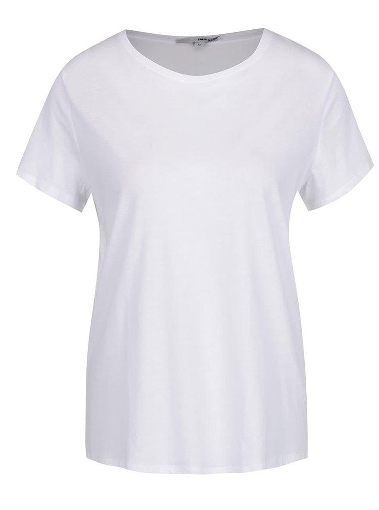 Tricou basic alb TALLY WEiJL
