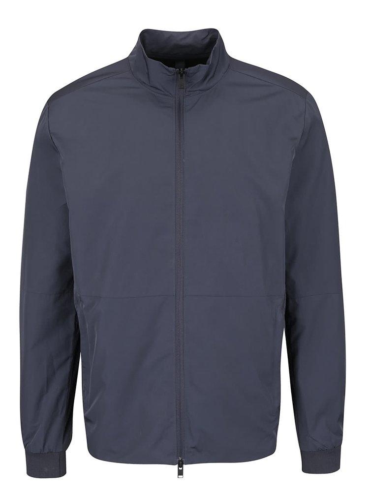 Jachetă albastră Selected Ed cu guler înalt