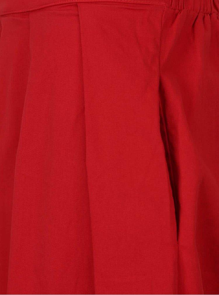 Fusta plisata rosie ZOOT