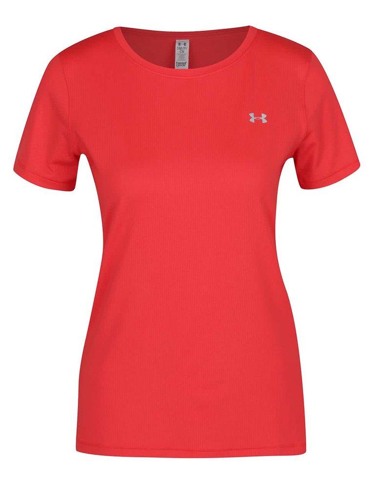 Červené dámske funkčné tričko Under Armour HG Armour SS