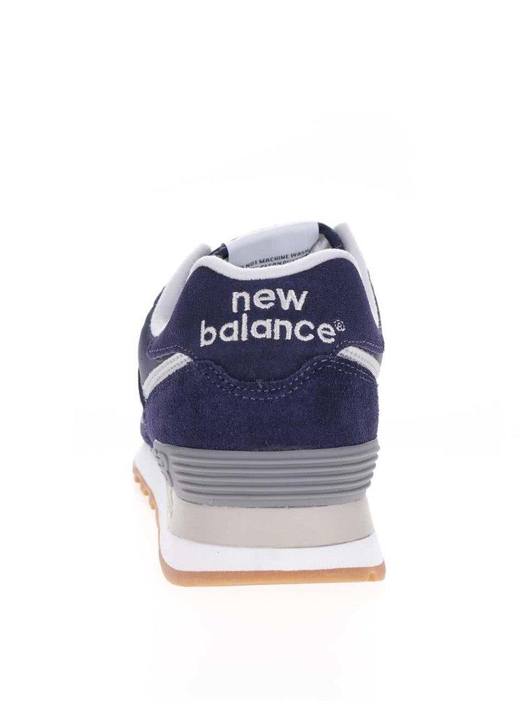 Fialové pánské semišové tenisky New Balance