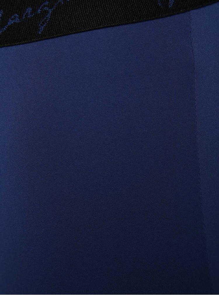 Modré lesklé boxerky Marginal Promo