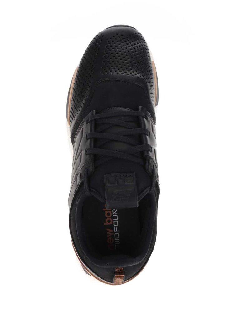 Pantofi sport negru&maro New Balance