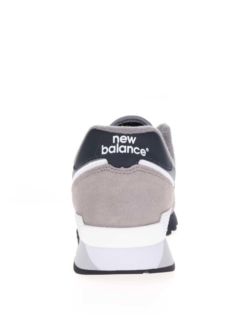 Šedé pánské semišové tenisky New Balance