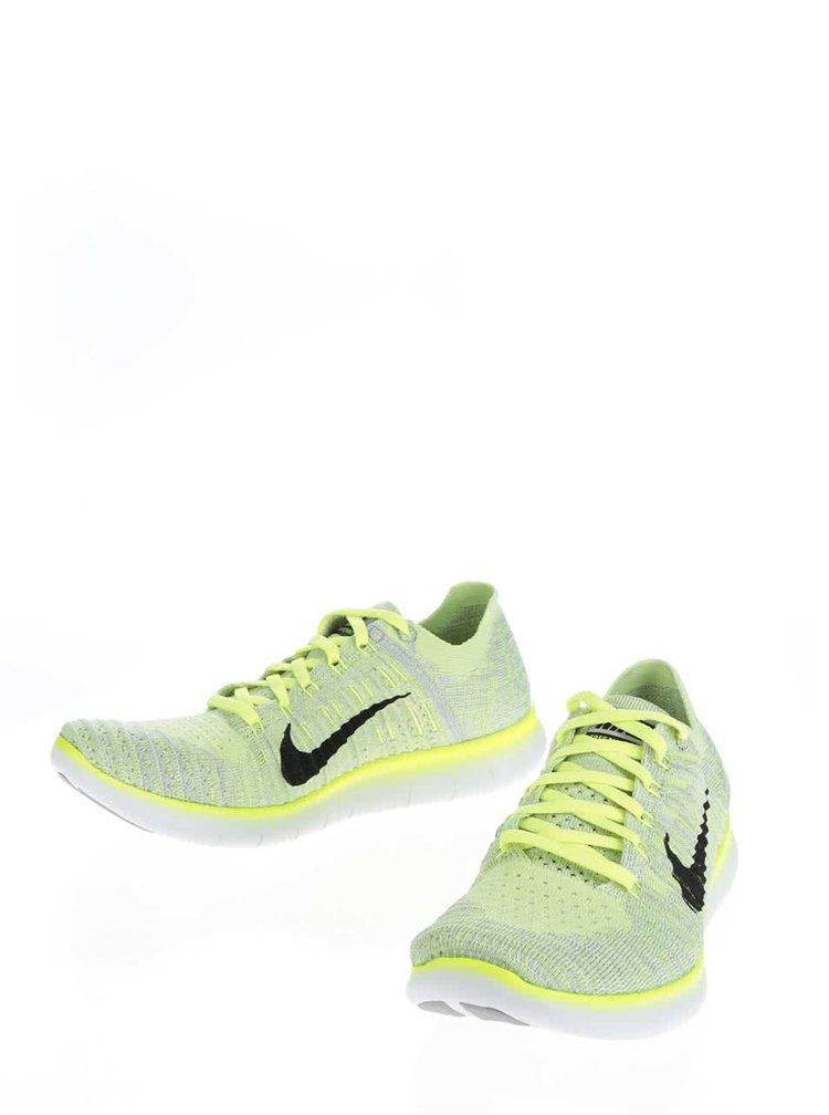 Pantodi sport verde neon Nike Free Fly