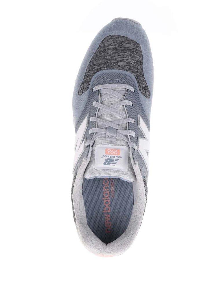 Pantofi sport gri&albastru deschis New Balance 996