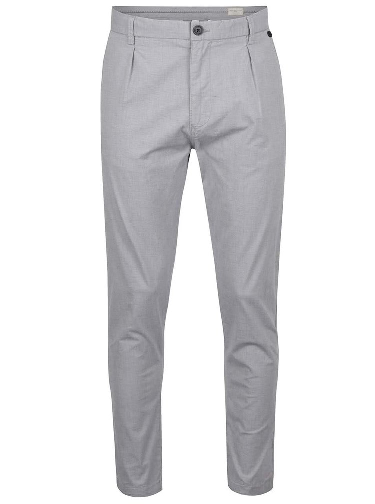Pantaloni chino gri Selected Homme Axel
