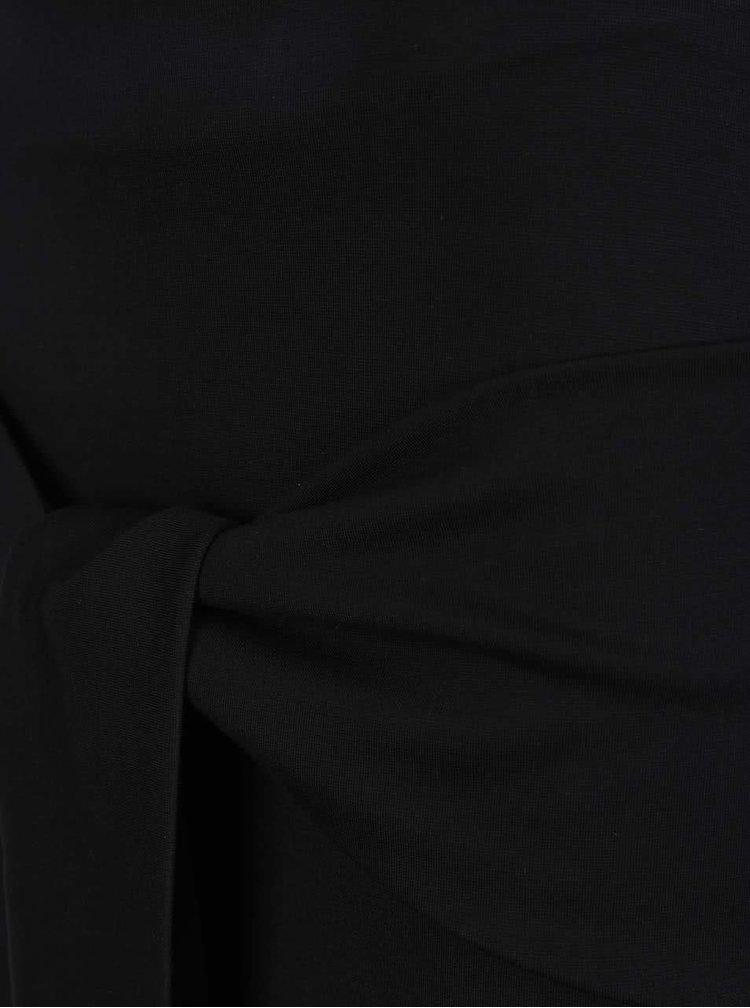 Fustă neagră ZOOT cu model petrecut