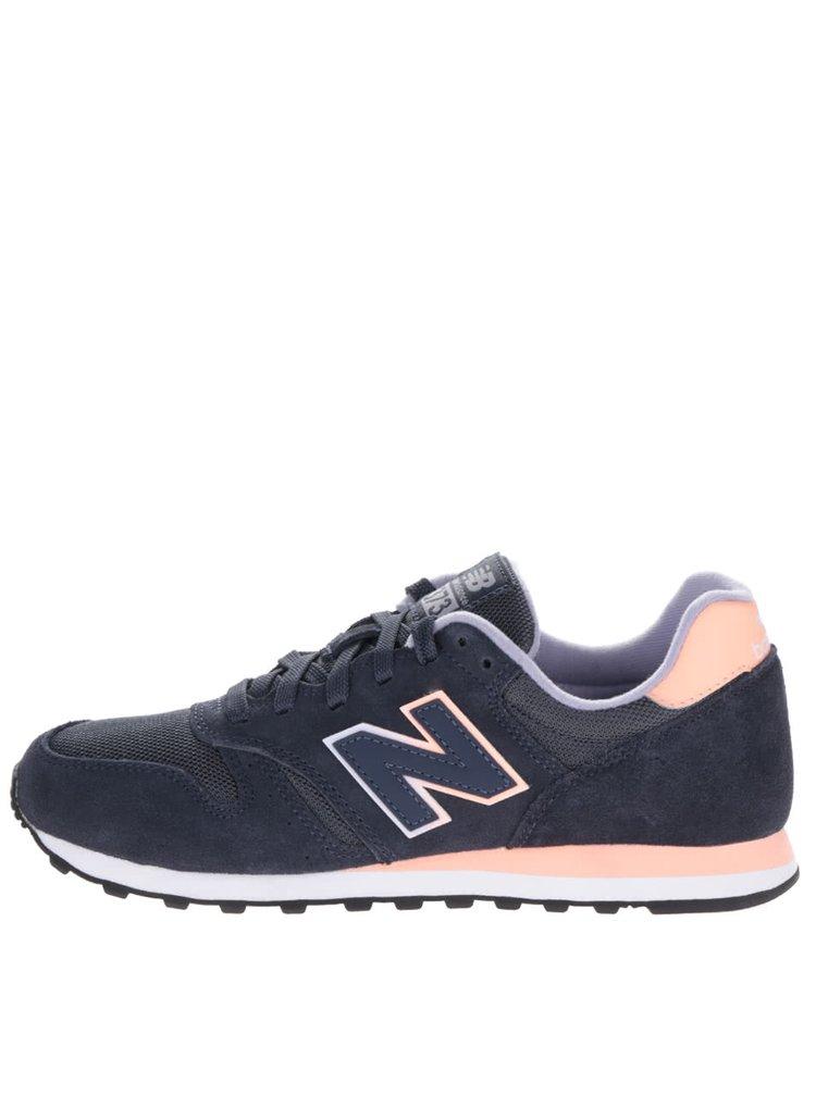 Pantofi sport albastru închis New Balance 373