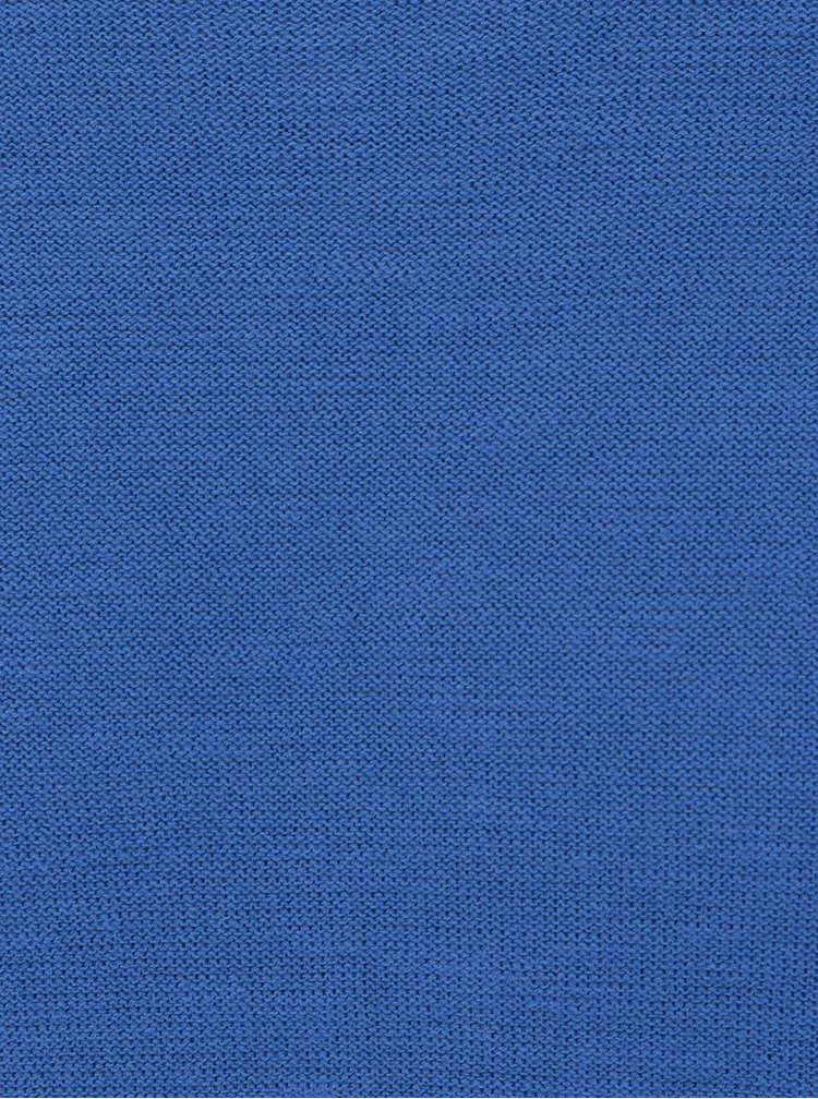 Pulover albastru ONLY & SONS Pladin din bumbac