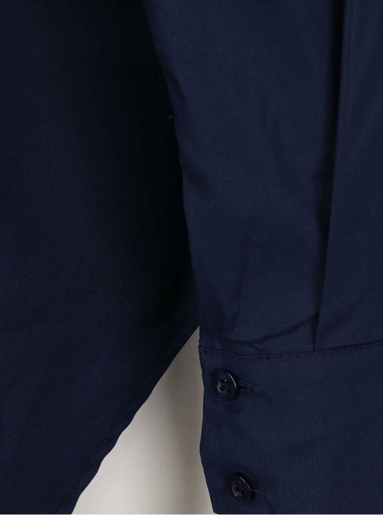 Camasa lunga albastru inchis ZOOT