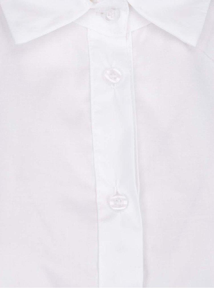 Biela blúzka s dlhým rukávom ZOOT