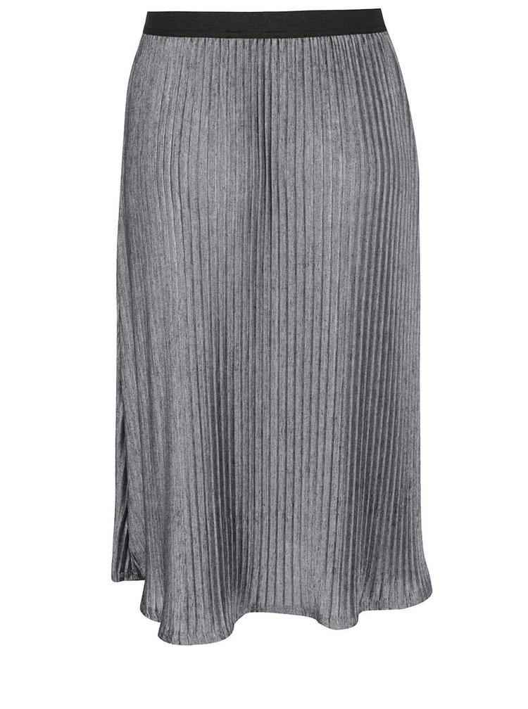 Šedá sukně Miss Selfridge