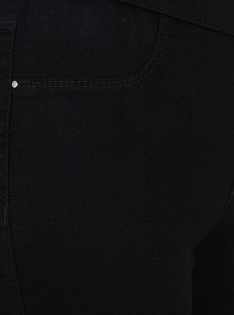Černé ultra soft zkrácené jeggins Dorothy Perkins