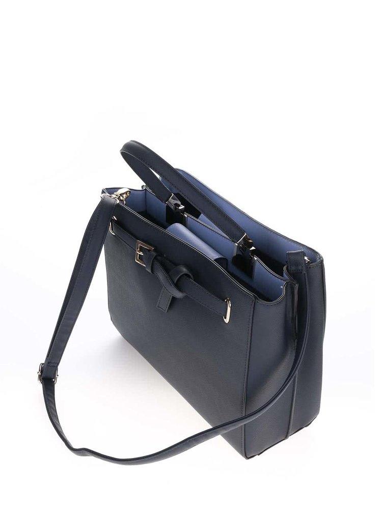 Tmavě modrá větší kabelka Dorothy Perkins