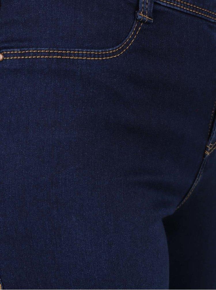 Tmavě modré ultra soft slim džíny Dorothy Perkins Frankie