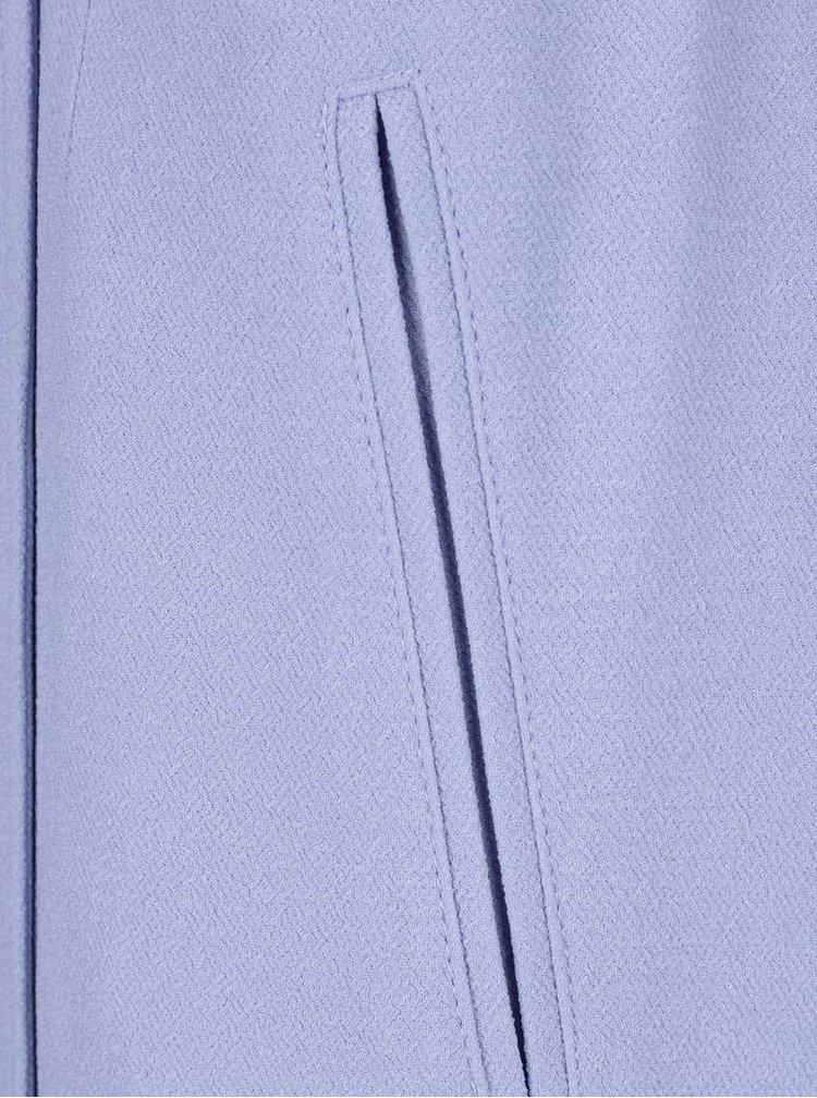 Světle modrý trenčkot Miss Selfridge