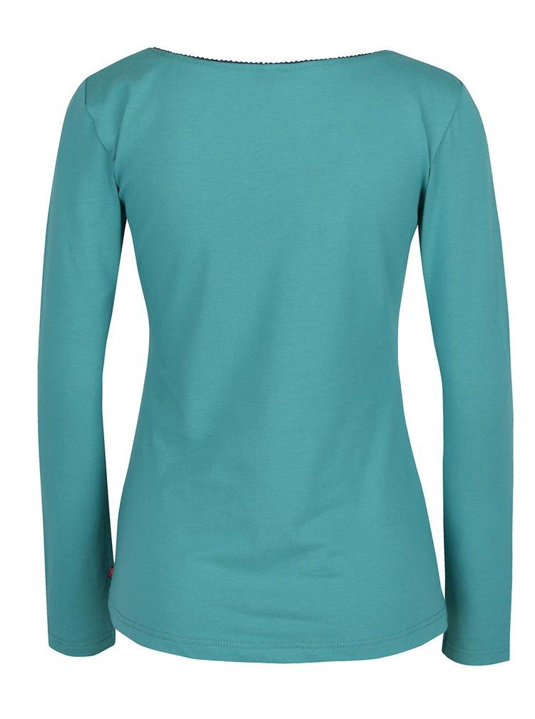 Tyrkysové tričko Tranquillo Mara