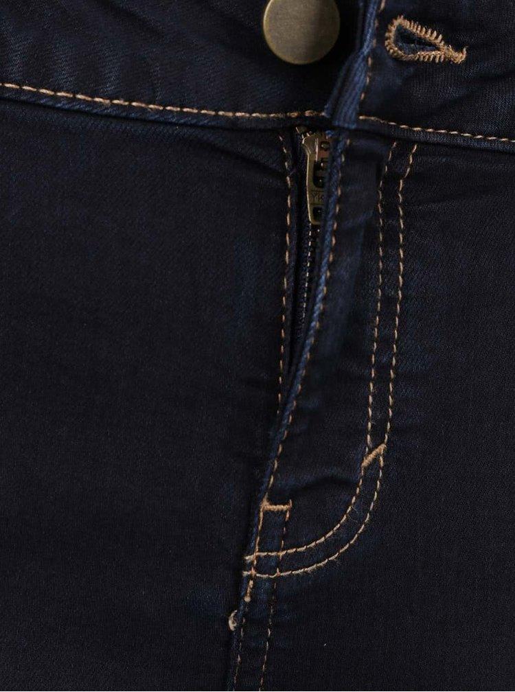 Tmavě modré super skinny džíny Dorothy Perkins