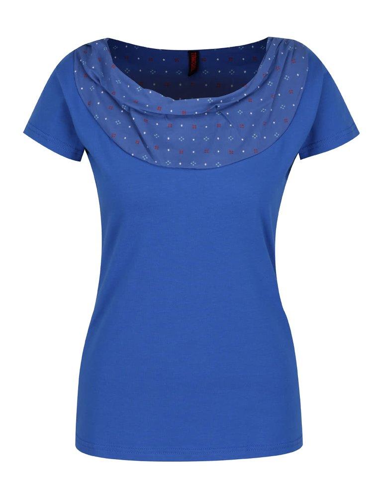Tmavě modré tričko s krátkým rukávem Tranquillo Aaltje