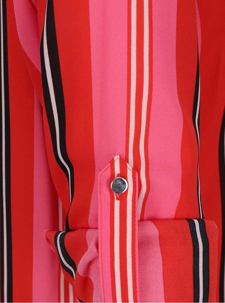 Cămașă roșie Dorothy Perkins cu model