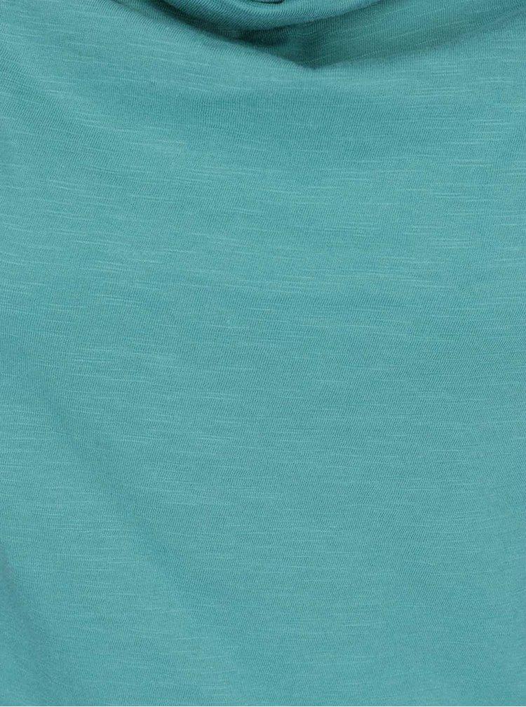 Tyrkysové tričko Tranquillo Laisa