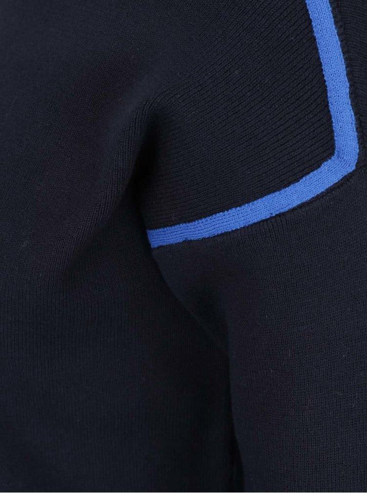 Pulover albastru închis Dorothy Perkins cu detalii