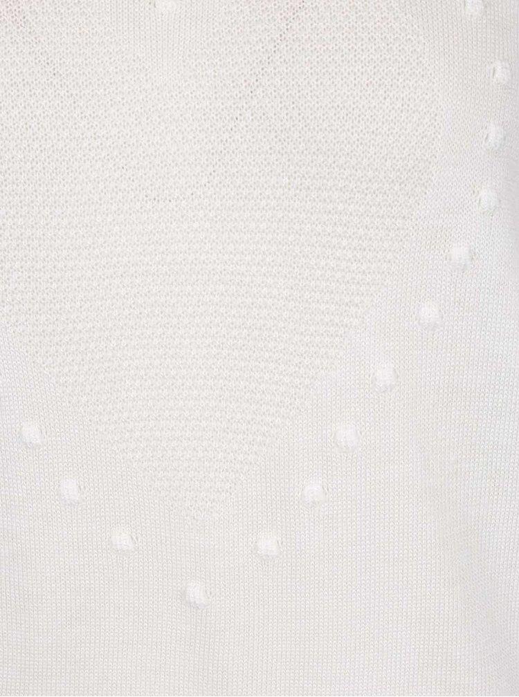 Krémový svetr s motivem srdce Miss Selfridge