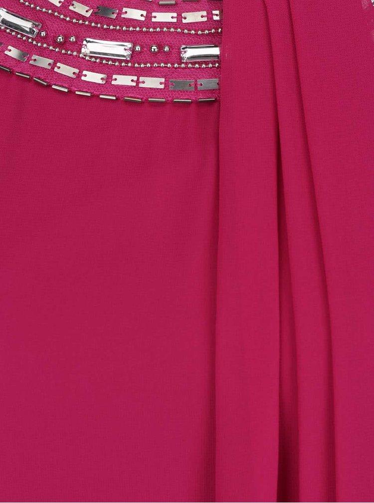 Rochie roz inchis Billie & Blossom cu detalii