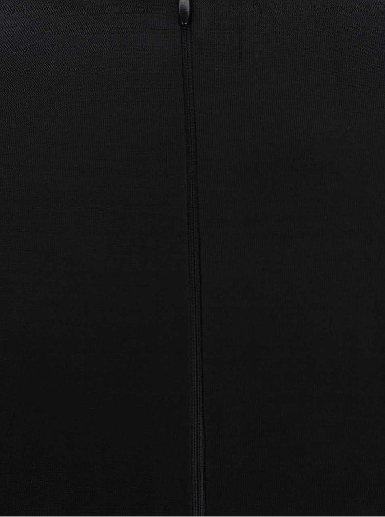 Černé maxišaty s aplikací AX Paris