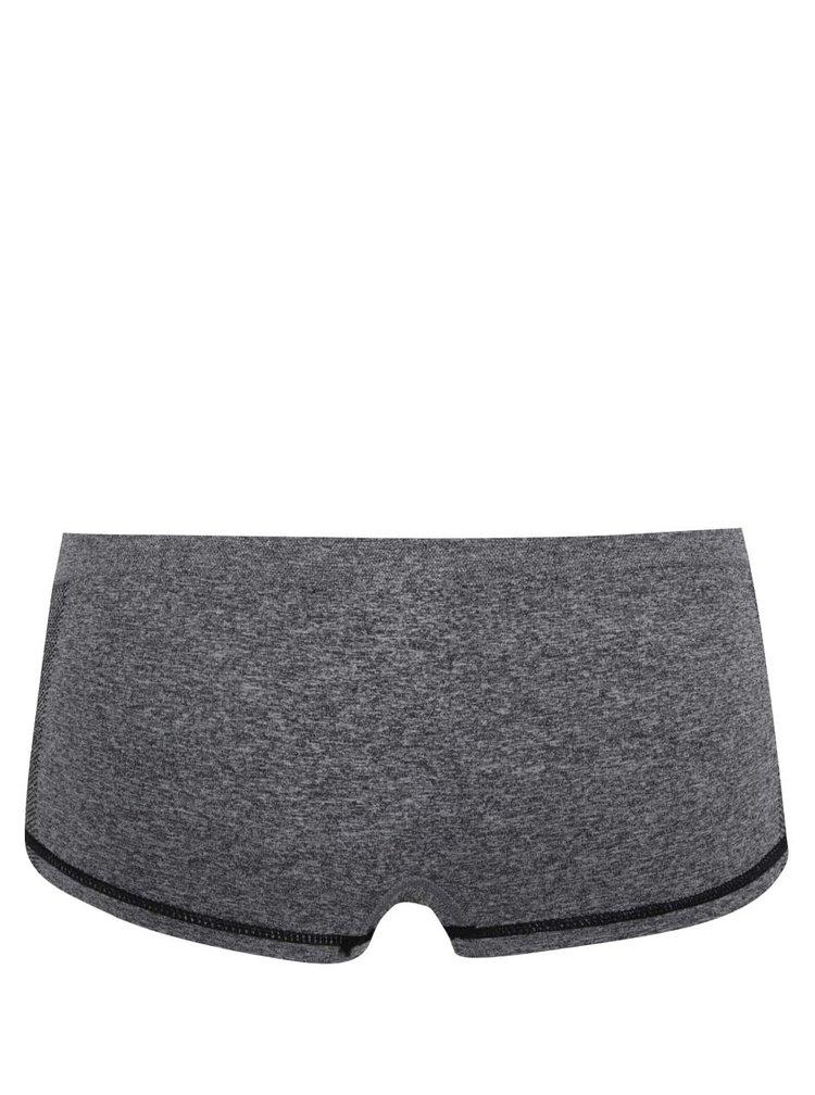 Tmavě šedé sportovní kalhotky ICÔNE T08
