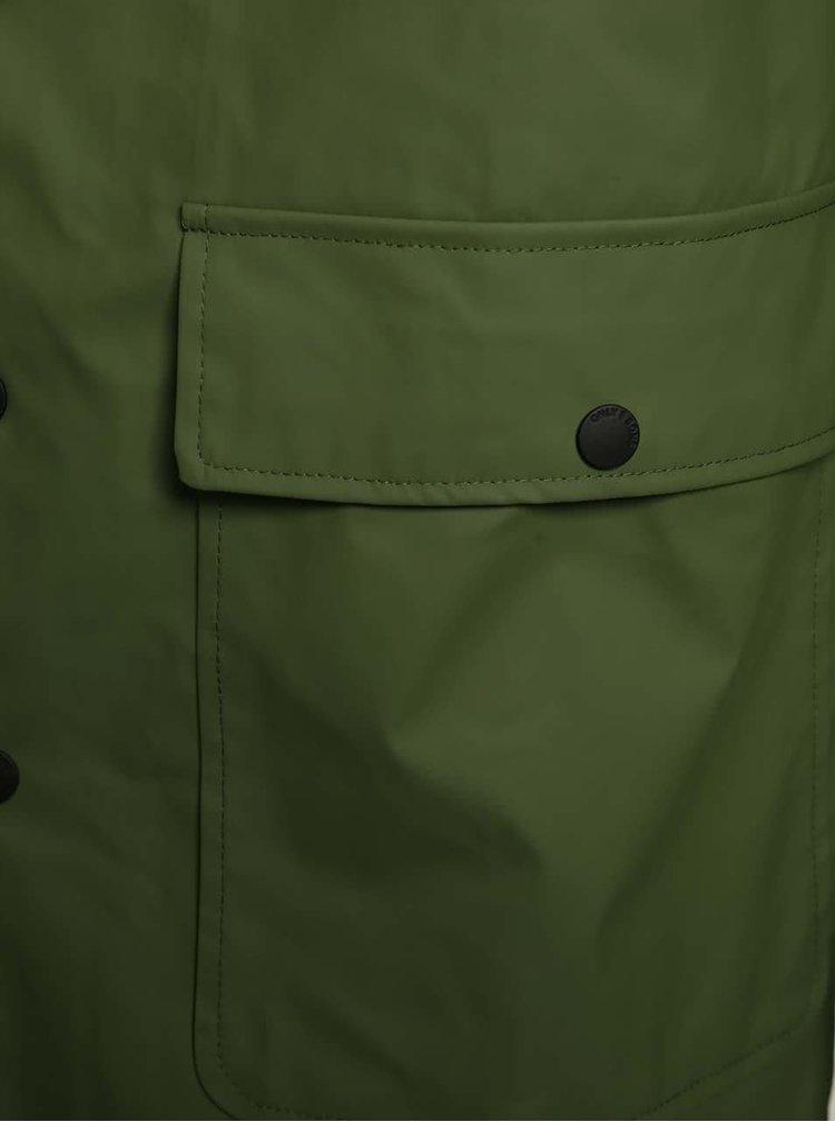 Zelená nepromokavá bunda ONLY & SONS Berzan